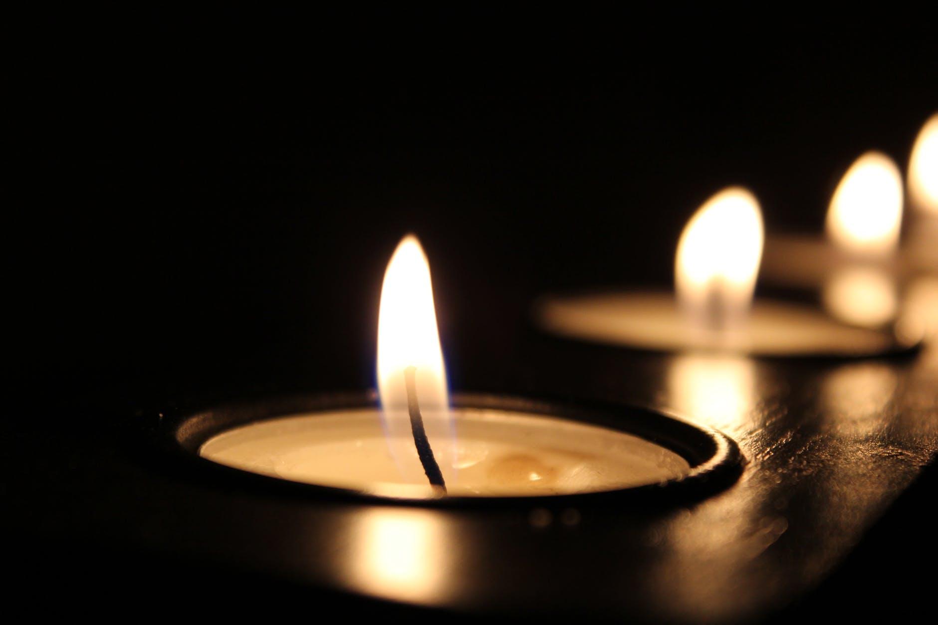 candle lighted shalom101