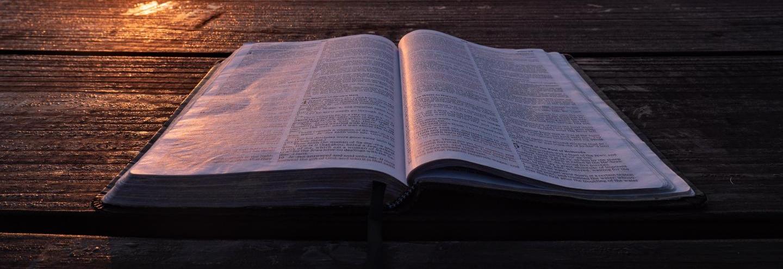 Bible from Unsplash Shalom101