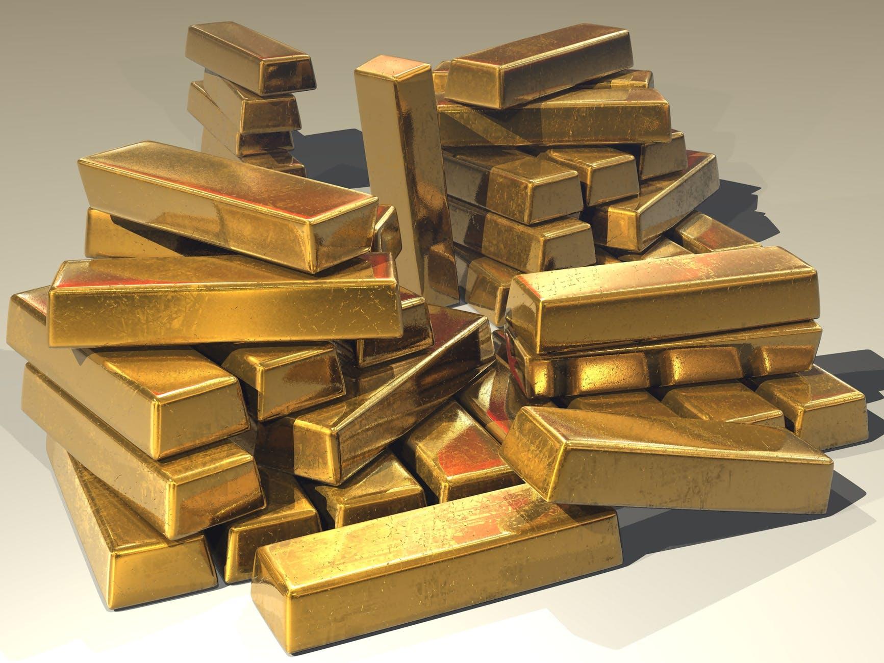 pexels bullion gold gold bars golden