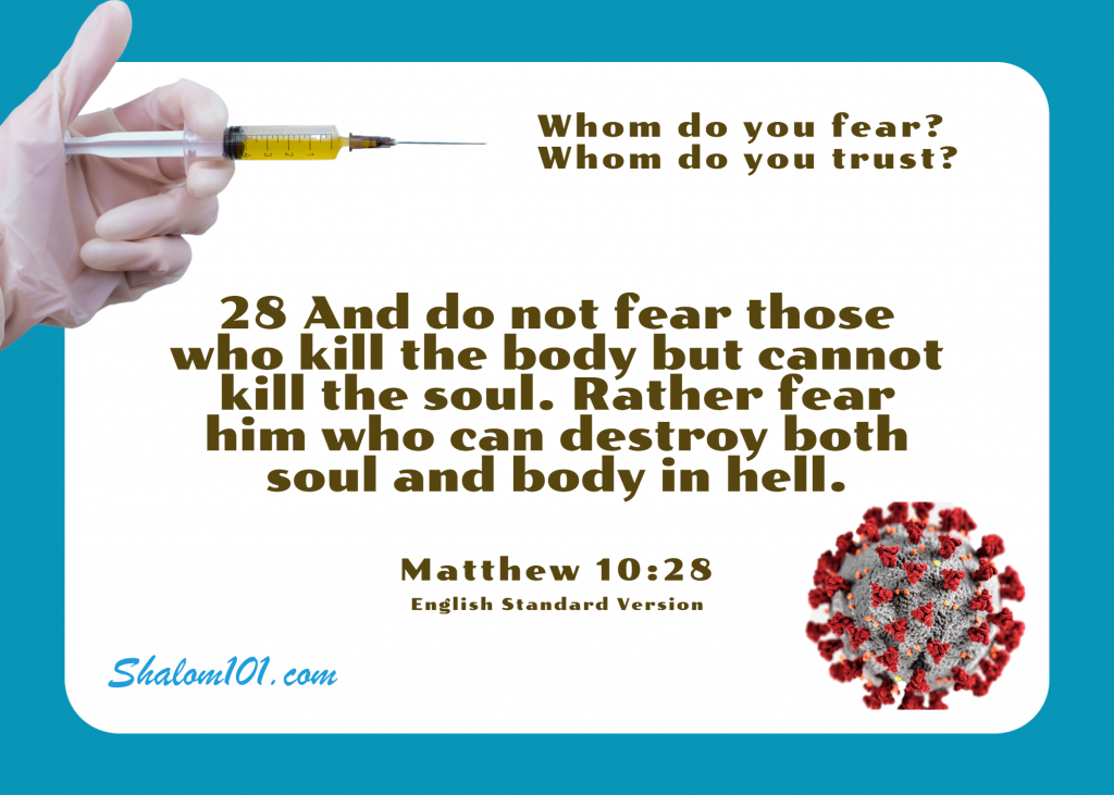And do not fear those who kill the body but cannot kill the soul. Rather fear him who can destroy both soul and body in hell.[